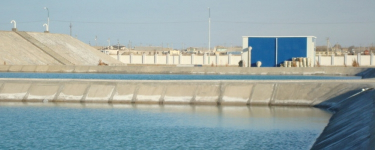 Sea water treatment plant