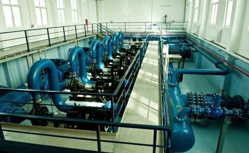 Drinking water pumping plant